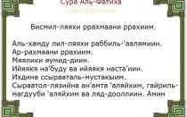 Аль Фатиха: текст суры на русском, смысловой перевод, слушать чтение на арабском