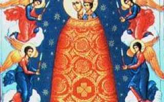 Молитва ко Пресвятой Богородице пред иконой Ее «Подательница ума» или «Прибавление ума»