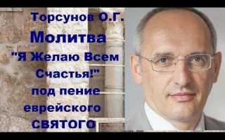 — Торсунов: «Я желаю всем счастья» (молитва) ВИДЕО и полный ТЕКСТ лекции – Наука, эзотерика, религия.