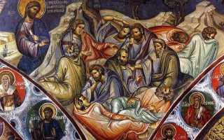 Гефсиманская молитва Иисуса Христа. Взятие под стражу.