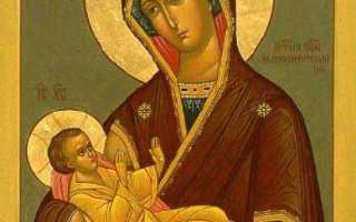 Молитвы Пресвятой Богородице перед Ее иконой «Млекопитательница». Самые главные молитвы и праздники