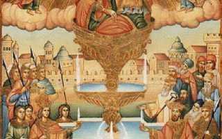 Икона живоносный источник: когда поможет и как правильно молиться