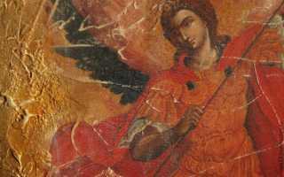 Молитва к Архангелу Михаилу: сильнейшая защита (на паперти Чудова монастыря)