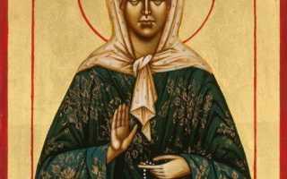 Молитва Матроне Московской о здоровье, здравии болящего, исцелении от болезни