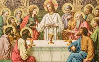 Молитва перед едой и после еды (православная) — читать и слушать