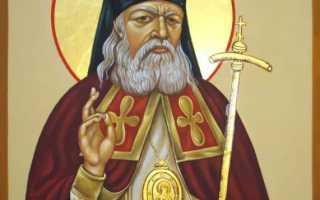 Молитва святителю луке крымскому об исцелении ребенка на русском