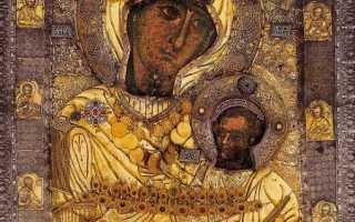 Когда следует читать молитву Иверской иконе Божией Матери