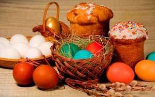 Молитва на освящение яиц. Молитва при освящении кулича и яиц