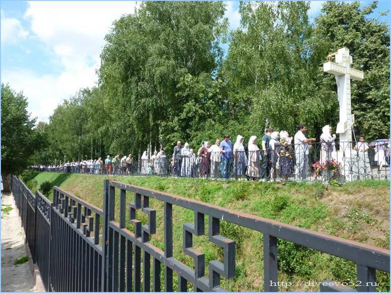 Молитва которую нужно читать на канавке в дивеево на сайте святая-молитва.рф